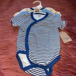 NEW Baby Boy Set of Three Onesie's 6-9 Months!